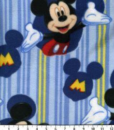 Disney Licensed Fleece Print Fabric Mickey Framed, , hi-res