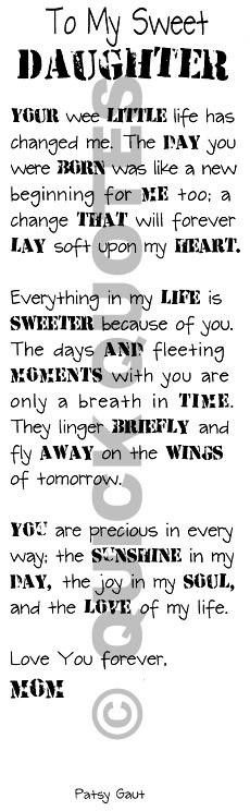 I would totally print this on the wall of the room I create for my future baby :)
