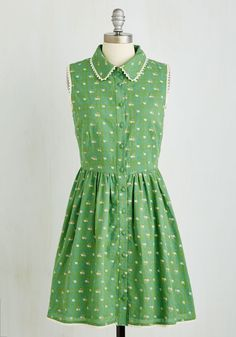 Picket Fence Perfection Dress