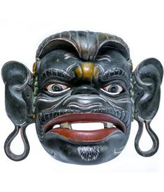 Monkey Mask, Masked Man, Masks Art, Good And Evil, Balinese, Old Art, Life Cycles, Mask Making