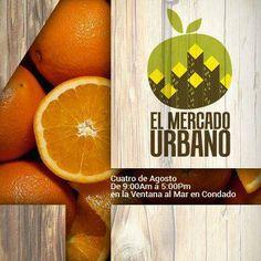 El Mercado Urbano: Agosto 2013 @ Plaza Ventana al Mar, Condado #sondeaquipr #mercadourbano #ventanaalmar #condado #sanjuan #agosto