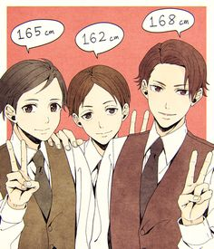Jistui, Hatano, and Miyoshi, from Joker Game Joker Game, Manga Boy, Anime Boys, Live Action, A Good Man, Twitter, Character Design, Fan Art, Animation