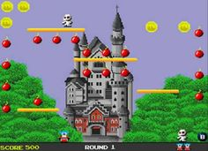 Bomb Jack Game ~ Classic arcade game!