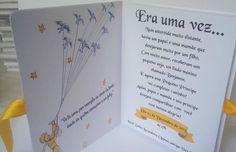 Convite Pequeno Príncipe em formato de livro Modelo Simples Material usado: parte interna escrita e capa papel offset opaco 180gr **TAG PARA NOME CONVIDADO NÃO INCLUSO** (PRODUTO VENDIDO SEPARADAMENTE)