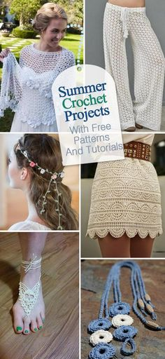 Free Crochet Patterns And Video Tutorials How To Crochet Summer