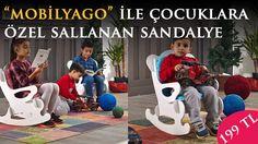 Çocuklarınıza eğlenceli bir hediye mi arıyorsunuz? Sallalan çocuk sandalyesi ile eğlencelerine eğlence katın.