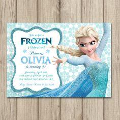101 best party ideas disneys frozen invites images on pinterest frozen birthday invitation elsa and anna invitation girl frozen invitation filmwisefo