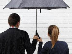 If you'd rather not hold your umbrella for your girl..