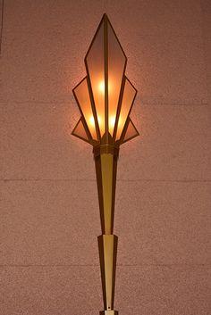Art Deco light