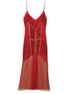 In the 1920's, women wore short dresses like these to not constrict with dancing, and it showed a new era of clothing.