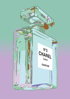 Chanel No 5 Andy Warhol Print Poster - Pop Art, French, Vintage, Art Deco Pop Art Party, Chanel No 5, Coco Chanel, Chanel Art, Chanel Perfume, Pop Art Wallpaper, House Sketch, Fashion Wall Art, Photo Wall Collage