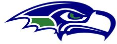 seahawks images | Seattle Seahawks Logo Stencil