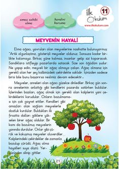 Learn Turkish Language, Stories For Kids, Child Development, Drama, Education, Learning, Preschool, Herbs, Turkish Language