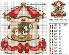 schemi a punto croce ispirati alla famose creazioni porcellana THUN Cross Stitch Christmas Ornaments, Xmas Cross Stitch, Cross Stitch Boards, Simple Cross Stitch, Cross Stitch Baby, Christmas Cross, Cross Stitching, Cross Stitch Embroidery, Embroidery Patterns