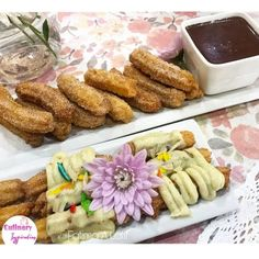 Churros With Burfee Topping Or Choc Sauce recipe by Fatima A Latif posted on 22 Apr 2019 . Recipe has a rating of by 3 members and the recipe belongs in the Biscuits & Pastries recipes category Chocolate Sauce Recipes, Food Categories, Cake Flour, Pastry Recipes, Churros, Food Pictures, Mexican Food Recipes, Biscuits, Homemade