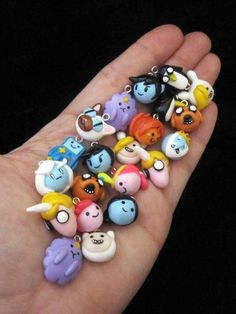 OMG I WANT THEM ALL! Choose your own Character Adventure Time Charm by egyptianruin, $8.00