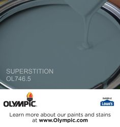 SUPERSTITION OL746.5 is a part of the aquas collection by Olympic® Paint.