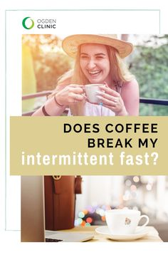 If you practice intermittent fasting, you may have wondered if your AM cup of coffee or tea could keep you in a fasted window. Healthy Diet Tips, How To Stay Healthy, Weight Loss Snacks, Healthy Weight Loss, Blood Type Diet, Medical Weight Loss, Water Weight, Intermittent Fasting, Coffee Break