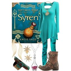 """""""Syren ~ Septimus Heap"""" by liesle on Polyvore"""
