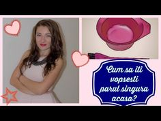 Cum sa ti vopsesti parul singura acasa | How to dye your own hair at home - YouTube Youtube, Blog, Hair, Instagram, Blogging, Youtubers, Strengthen Hair, Youtube Movies