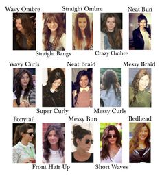 """""""Eleanor's Hairstyles"""" by eljanecalder ❤ liked on Polyvore featuring beauty and Boohoo"""