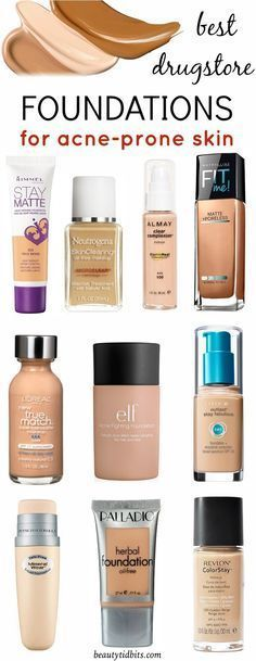 Battling pesky pimples? Heal & conceal it with these best drugstore foundations for oily, acne-prone skin. Each of these offer all day shine-free, lightweight coverage that lets skin breathe and won't clog pores. .