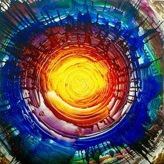 Spirit of love - Artwork by Emin Özdemir ( Basel, Abstract Art, Spirit, Love, Artwork, Handmade, Amor, Work Of Art, Hand Made