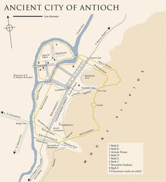 The ancient city of Antioch
