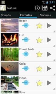 música relax de la naturaleza: miniatura de captura de pantalla