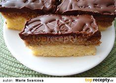 Sobotní piškotové řezy recept - TopRecepty.cz Cheesecake, Pie, Treats, Sweet, Food, Torte, Sweet Like Candy, Pastel, Goodies