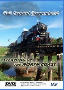 Rail Around Queensland: Steaming Up The North Coast. Seven carriages and a dining car are set to be hauled by BB18 ¼ 1089, over a distance of almost 3500 kilometres, through the numerous cities, rainforests and national parks on Queensland's spectacular north coast railway. Rainforests, North Coast, Military Vehicles, New Zealand, Distance, Trains, Movie Tv, Cities, National Parks