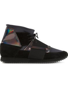Shop Swear 'Andie2' iridescent hi-top sneakers in SWEAR from the world's best independent boutiques at farfetch.com. Over 1000 designers from 60 boutiques in one website.