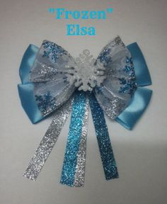 Hey, I found this really awesome Etsy listing at http://www.etsy.com/listing/171579844/disneys-frozen-elsa-inspired-bow