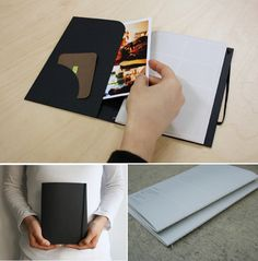 W.Planner-File-Black  • Black cover with elastic band closure • Perpetual weekly planner configuration • Printed with soy ink on recylced paper