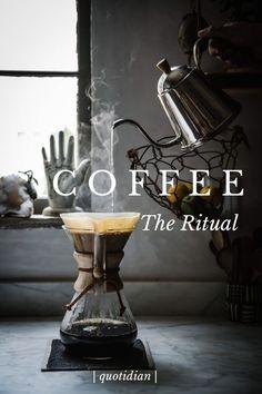 The coffee ritual
