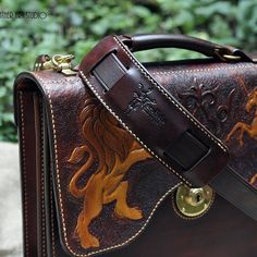 Leather goods in Kazakhsha Style by KazakhshaStyle on Etsy