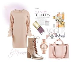 """""""CANDY COLORS in AUTUMN"""" by nurinur ❤ liked on Polyvore featuring Gina Bacconi, Sigerson Morrison, Bottega Veneta, Michael Kors and Corto Moltedo"""