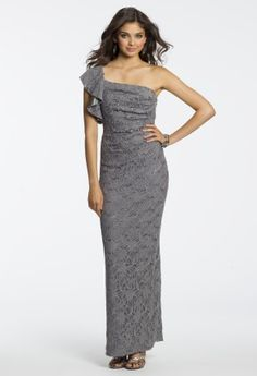 A sexy one shoulder is sure to spice up any party, where would you like to turn up the heat $139.99