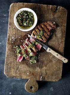 Miso Marinated Steak