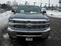 2015 Chevrolet Silverado2500HD WorkTruck 4x4 Work Truck 4dr Double Cab SB Pickup 4 Doors Blue for sale in Frankfort, IL Source: http://www.usedcarsgroup.com/new-chevrolet-silverado_2500hd-for-sale