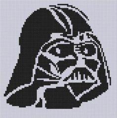 Darth Vader Stitch Pattern