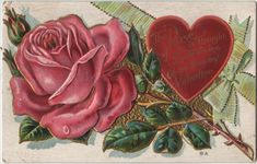 Valentine Postcard - The Graphics Fairy