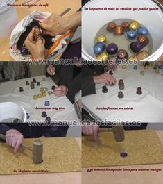 cleaning recycled nespresso capsule DIY tutorial