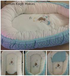 Kumaş Kağıt Makas: Baby Nest Yapılışı