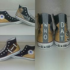 New Orleans Saints Who Dat Converse