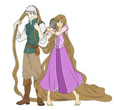 Hetalia/Tangled crossover >>>This works so well. ~it's like jack, in Flynn's clothes.