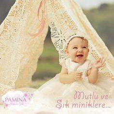 Mutlu ve şık miniklere özel tasarımlar Pamina Kids'te!  Special desings for happy and chic little girl... #fashionkids #kidswear #baby #girlclothes
