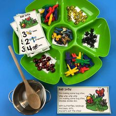 Counting Stews and Brews™️ - Pocket of Preschool Spring Activities, Craft Activities For Kids, Preschool Crafts, Math Activities, Toddler Activities, Preschool Centers, Preschool Education, Kindergarten Classroom, Toddler School
