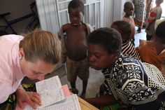 Patient check-in at the Nandumbo Health Centre #Malawi #HELPchildren #HealthCentre #PeaceCorps #Volunteer @Peace Corps