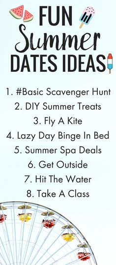 8 Unique Summer For Any Budget! cheap summer date ideas, summer bucket list, summer date Marriage Advice, Relationship Advice, Unique Date Ideas, Couple Activities, Summer Dates, Anniversary Dates, Dating Advice For Men, Summer Bucket Lists, Text Quotes